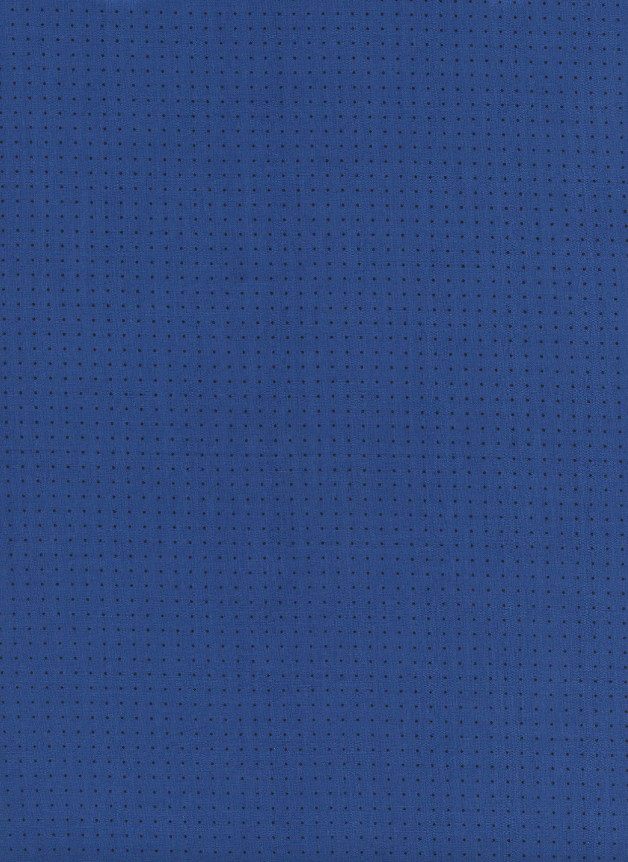 0f656328bba3 M0056-026 Kicks - Pin Dot - Indigo Rayon Lawn Fabric
