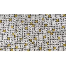 LV200-GY2U In The Woods - Happy Snail - Gray Unbleached Fabric 3
