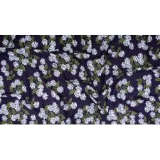 RP201-NA7K Meadow - Hydrangea - Navy Knit Fabric 3