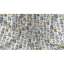 RP202-CR1L Meadow - Wildflower Field - Cream Lawn Fabric 3