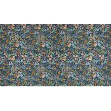 RP204-BL5C Meadow - Meadow - Blue Canvas Fabric (RP204-CO5C) 2