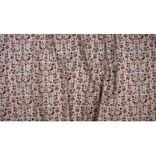 ST104-BL1 In Bloom - Floral Garden - Blush Fabric 3