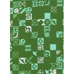 A4026-003 Clover - Dance Floor - Shamrock Fabric