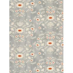 A4043-002 Flower Shop - Folk Dress - Natural Unbleached Cotton Fabric