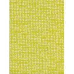 A4047-002 Flower Shop - Cipher - Citron Unbleached Cotton Fabric