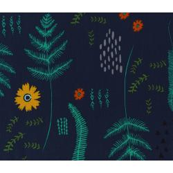 A4015-003 Mesa - Fern Book - Navy Fabric