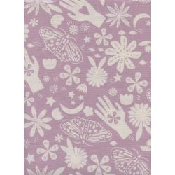 A4067-002 Moonrise - Dream - Lilac Unbleached Cotton Fabric