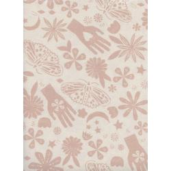 A4067-003 Moonrise - Dream - Pink Unbleached Cotton Fabric