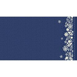 A4072-015 Moonrise - Bandana - Indigo Rayon Fabric