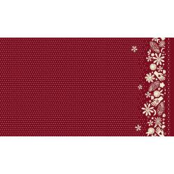 A4072-025 Moonrise - Bandana - Wine Rayon Fabric