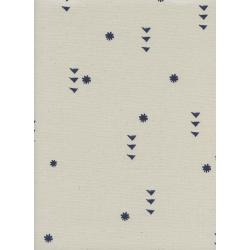 A4074-003 Moonrise - Rain - Cloud Unbleached Cotton Fabric