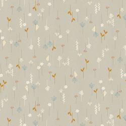 AE102-PE3U Dear Friends - Hide and Seek - Pebble Unbleached Fabric