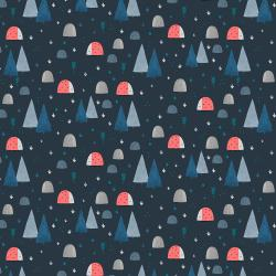 AE201-MI2 Summer Skies - Ladybug Land - Midnight Fabric