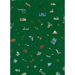 AB8043-002 Amalfi - Explorer - Hunter Fabric