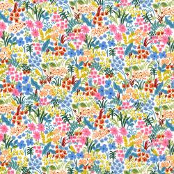 AB8059-001 English Garden - Meadow - Cream Fabric