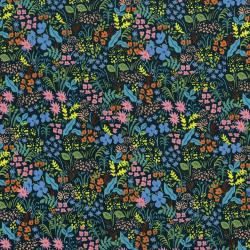 AB8059-004 English Garden - Meadow - Navy Fabric