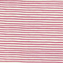 AB8062-001 English Garden - Painted Stripes - Pink Fabric