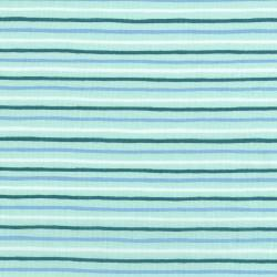 AB8062-003 English Garden - Painted Stripes - Mint Fabric