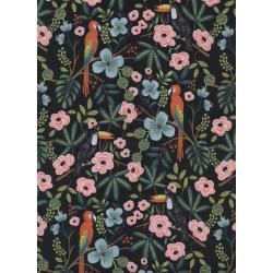 AB8028-001 Menagerie - Paradise Garden - Midnight Fabric