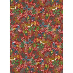 AB8029-003 Menagerie - Jungle - Red Fabric