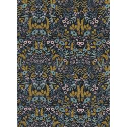 AB8031-004 Menagerie - Tapestry - Midnight Metallic Fabric