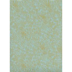 AB8033-001 Menagerie - Champagne - Mint Metallic Fabric