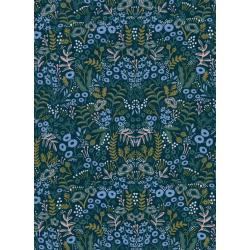 AB8036-015 Menagerie - Tapestry - Navy Rayon Fabric