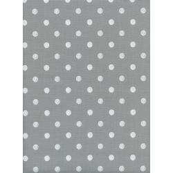 AB8023-003 Wonderland - Caterpillar Dots - Grey Fabric