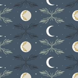 AC100-NI1 Camp Creek - Harvest Moon - Night Fabric