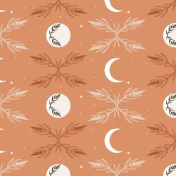 AC100-SK3 Camp Creek - Harvest Moon - Sky Fabric