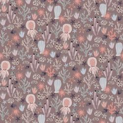 CC103-SA4 Kaikoura - Under the Sea - Sand Fabric