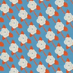 CF101-BL2U Kibori - Chico - Blue Unbleached Fabric