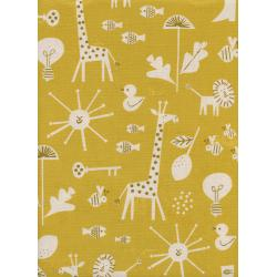CB9005-001 Spectacle - Sunbeam - Yellow Unbleached Cotton Fabric