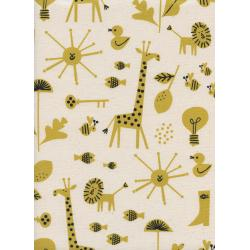 CB9005-002 Spectacle - Sunbeam - Natural Unbleached Cotton Fabric
