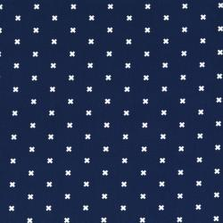 C5001-006 Cotton + Steel Basics - Xoxo - Night Owl Fabric