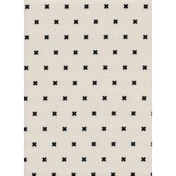 C5001-020 Cotton + Steel Basics - Xoxo - Chocolate Chips Unbleached Cotton Fabric