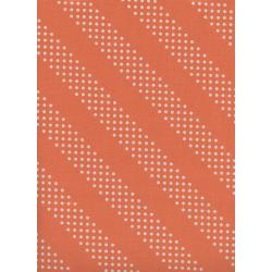 C5002-018 Cotton + Steel Basics - Dottie - Tangerine Unbleached Cotton Fabric