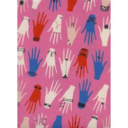 C6003-001 Beauty Shop - Manicure - Pink Fabric