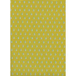C6007-003 Beauty Shop - Drops - Yellow Fabric