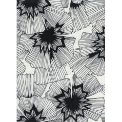 C5059-001 Black & White - Persephone Fabric