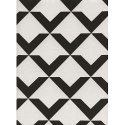 C5062-001 Black & White - Up And Up - Oyster Fabric