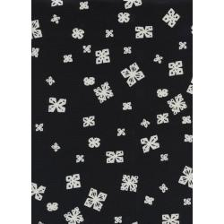 C5066-001 Black & White - Papercuts Fabric