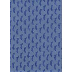 C5052-001 Bluebird - Leaflet - Blue Fabric
