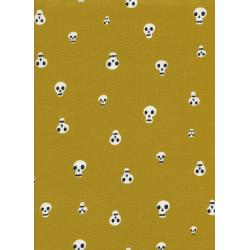 C5087-001 Boo - Charms - Mustard Fabric