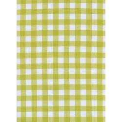 "C5091-004 Checkers - 1/2"" Gingham - Citron Fabric"