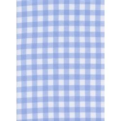 "C5091-009 Checkers - 1/2"" Gingham - Sky Fabric"