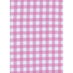 "C5091-011 Checkers - 1/2"" Gingham - Lavender Fabric"