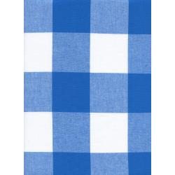 "C5092-002 Checkers - 2.5"" Gingham - Cobalt Fabric"