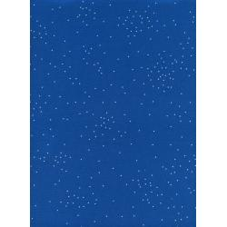 C5023-012 Cotton + Steel Basics - Sprinkle - Peacock Unbleached Cotton Fabric