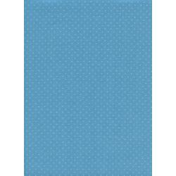 C5093-013 Cotton + Steel Basics - Add It Up - Bison Blue Unbleached Cotton Fabric